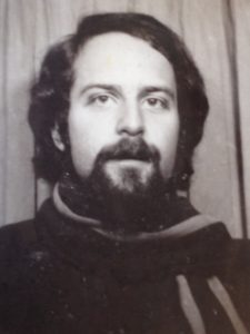 Harvey during his student days in London.