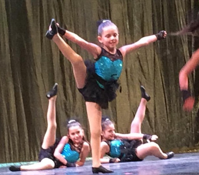Grace Dance Recital Blue 2016