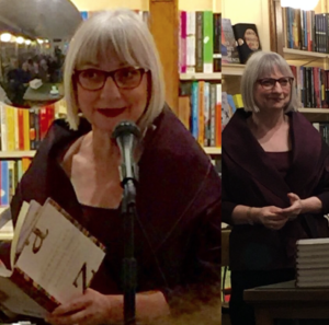 Molly Peacock reading from Alphabetique at The Corner Bookstore, Madison Avenue, New York City, Spring 2016
