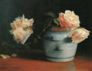 Mary Hiester Reid, Roses in a Vase, 1891